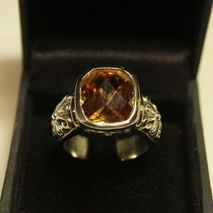 Jewelry - Citrine Silver Ring